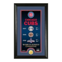 "MLB Chicago Cubs ""Legacy"" Bronze Coin Photo Mint"