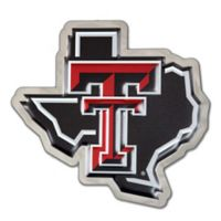 "Texas Tech University Small ""Texas Tech Pride"" Logo Wall Art in Red/White/Black"