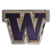 "University of Washington Large ""W"" Logo Wall Art in Gold/Purple"