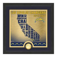 "NFL Los Angeles Chargers ""State"" Photo Mint"