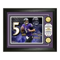 NFL Joe Flacco Bronze Coin Photo Mint