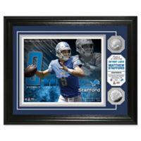 NFL Matthew Stafford Bronze Coin Photo Mint