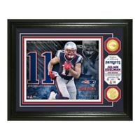 NFL Julian Edelman Bronze Coin Photo Mint