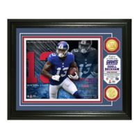NFL Odell Beckham Bronze Coin Photo Mint