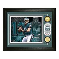 NFL Carson Wentz Bronze Coin Photo Mint