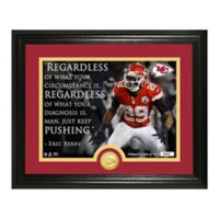 NFL Eric Berry Quote Bronze Coin Photo Mint