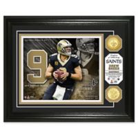 NFL Drew Brees Bronze Coin Photo Mint
