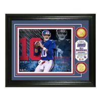 NFL Eli Manning Bronze Coin Photo Mint