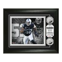 NFL Khalil Mack Silver Coin Photo Mint