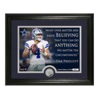 NFL Dak Prescott Silver Coin Photo Mint