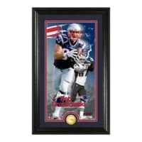 NFL Rob Gronkowski Supreme Bronze Coin Photo Mint
