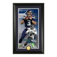 NFL Russell Wilson Supreme Bronze Coin Photo Mint