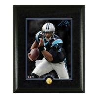 NFL Cam Newton Canvas Art Gold Coin Photo Mint