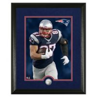 NFL Rob Gronkowski Canvas Art Silver Coin Photo Mint