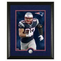 NFL Rob Gronkowski Canvas Art Silver Coin Photo Mint