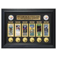 NFL Pittsburgh Steelers 6X Super Bowl Champions Deluxe Ticket Collection