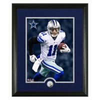 NFL Cole Beasley Canvas Art Silver Coin Photo Mint