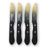 NHL Vegas Golden Knights 4-Piece Stainless Steel Steak Knife Set