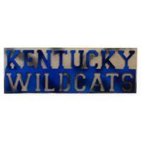 """University of Kentucky """"Kentucky Wildcats"""" Wall Art"""