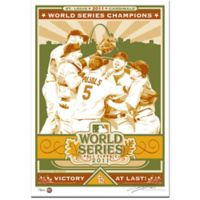 MLB St. Louis Cardinals 2011 World Series Champions Serigraph