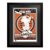 MLB San Francisco Giants Buster Posey That's My Ticket Serigraph with Frame