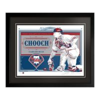 MLB Philadelphia Phillies Carlos Ruiz That's My Ticket Serigraph with Frame