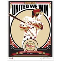 MLB Philadelphia Phillies Chase Utley That's My Ticket Serigraph