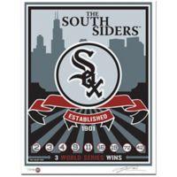 MLB Chicago White Sox Logo That's My Ticket Serigraph