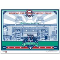 MLB Philadelphia Phillies Citizens Bank Park That's My Ticket Serigraph
