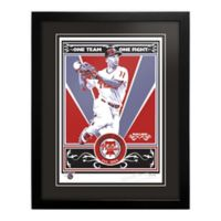MLB Philadelphia Phillies Jimmy Rollins That's My Ticket Serigraph with Frame