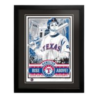 MLB Texas Rangers Josh Hamilton That's My Ticket Serigraph with Frame