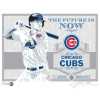 MLB Chicago Cubs Kris Bryant That's My Ticket Serigraph