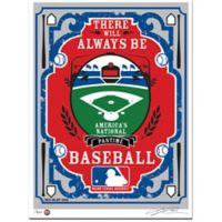 MLB That's My Ticket Serigraph