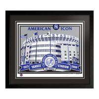 MLB Old Yankee Stadium That's My Ticket Serigraph with Frame