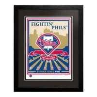 MLB Philadelphia Phillies Logo That's My Ticket Serigraph with Frame
