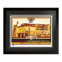 MLB Pittsburgh Pirates PNC Park That's My Ticket Serigraph with Frame
