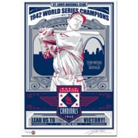 MLB St. Louis Cardinals Stan Musial That's My Ticket Serigraph