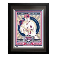 MLB Washington Nationals Stephen Strasburg That's My Ticket Serigraph with Frame