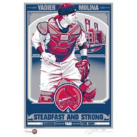 MLB St. Louis Cardinals Yadier Molina That's My Ticket Serigraph