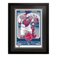 MLB St. Louis Cardinals Yadier Molina That's My Ticket Serigraph with Frame