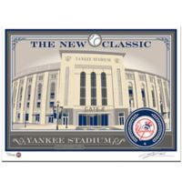 MLB New York Yankees Stadium That's My Ticket Serigraph