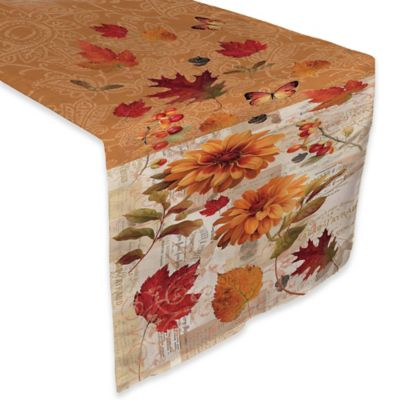 Laural Home® Fall In Love 90 Inch Table Runner