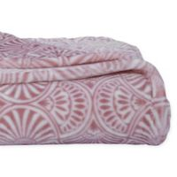 Berkshire Blanket® Velvet Loft Throw Blanket in Pink