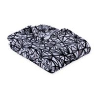 Berkshire Blanket® Angels VelvetLoft Twin Throw Blanket in Black