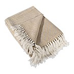Luxury Throw Blanket in Taupe