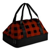 Picnic Time® Potluck Casserole Tote in Red Plaid