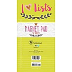 TF Publishing Wreath Memo Magnet Pad in Green