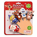 Rudolph The Red-Nosed Reindeer 5-Piece Finger Puppets Set