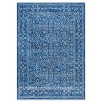 nuLOOM Vintage Waddell 5-Foot x 7-Foot 5-Inch Area Rug in Dark Blue