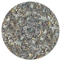 nuLOOM Taunya 8-Foot Round Multicolor Area Rug
